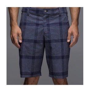 Lululemon Men's Kahuna Short Plaid 2.0